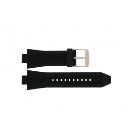 Klockarmband Michael Kors MK8184 Gummi Svart 13mm