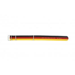 Klockarmband Universell EX-WH37 Textil Svart 22mm