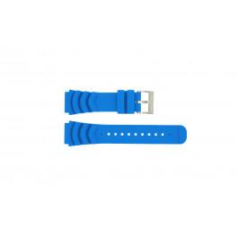 Nautica klockarmband A18631 Gummi Ljusblå 22mm