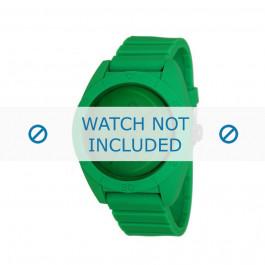 Adidas klockarmband ADH2788 Plast Grönt 24mm