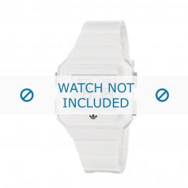 Klockarmband Adidas ADH4056 Gummi Vit 22mm