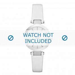 Klockarmband DKNY NY2403 Läder Vit 8mm