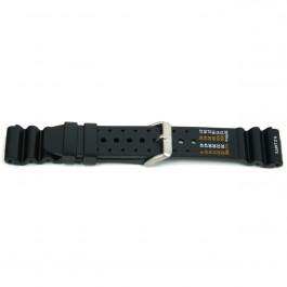 Klockarmband Universell XF13 Gummi Svart 18mm
