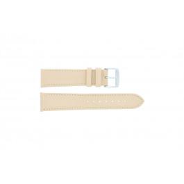 Klockarmband Universell 283.30 Läder Beige 24mm