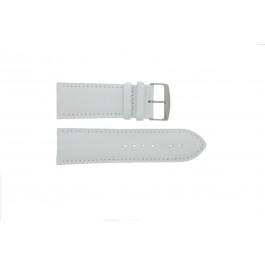 Klockarmband Universell 306.09 Läder Vit 32mm