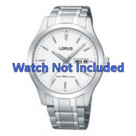 Lorus klockarmband VX43-X074 Stål Silver 20mm