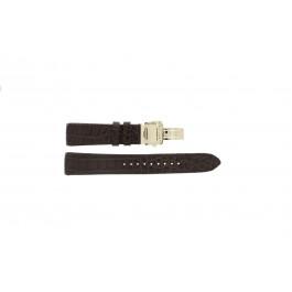 Klockarmband Seiko 5D88-0AA0 / SRX004P1 / 4A072JL Krokodil läder Brun 21mm