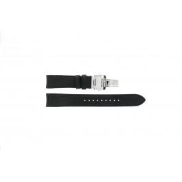 Klockarmband Seiko 7D46-0AB0 / SNP015P1 / 4LA8JB Läder Svart 20mm