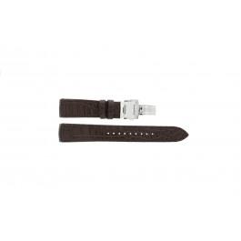 Klockarmband Seiko 7T04-0AA0 / SPC059P1 / 4A071JL Läder Brun 21mm