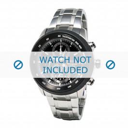 Klockarmband Seiko 7T62-0HL0 / SNAB51P1 / SNAB51J1 Stål 24mm