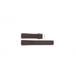 Klockarmband Skagen 331LSL1 Läder Brun 18mm