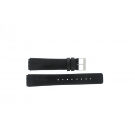 Klockarmband Skagen 433LSLC Läder Svart 18mm