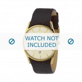 Klockarmband Skagen 474XLGL Läder Brun 24mm