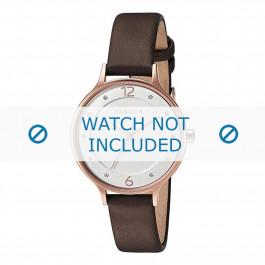 Klockarmband Skagen SKW2472 Mjukt läder Brun 12mm