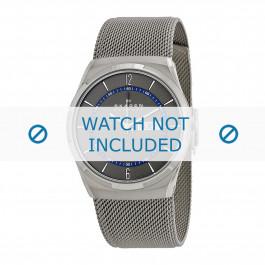 Klockarmband Skagen SKW6078 / 11XXXX Milanese Antracitgrå 11mm