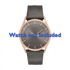 Klockarmband Skagen SKW2346 Läder Antracitgrå 20mm