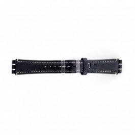 Klockarmband Swatch (alt.) ES.IRON-2.05 Läder Blå 19mm
