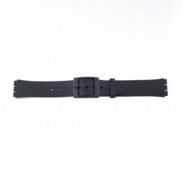 Klockarmband Swatch (alt.) P51 Plast Svart 17mm