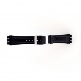 Klockarmband Swatch (alt.) SC14.05 Läder Blå 19mm