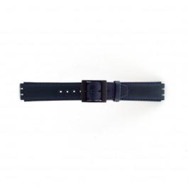 Klockarmband Swatch SC11.05 Läder Blå 17mm