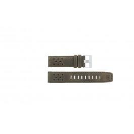 Klockarmband Timex P49626 Läder Brun 22mm