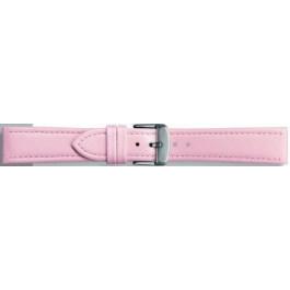 Klockarmband Universell 283R.14 Läder Rosa 18mm