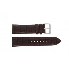 Tommy Hilfiger klockarmband TH-67-1-14-0759 / TH1710177 / TH1710178 Läder Brun + sömmar brun