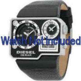 Klockarmband Diesel DZ7101 Läder Svart 39mm