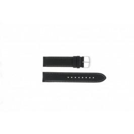 Timex klockarmband T2N156 Läder Svart 20mm
