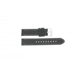 Klockarmband Timex TW2P58800 Läder Svart 20mm