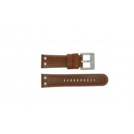TW Steel klockarmband TWB69 Läder Brun 24mm + default sömmar