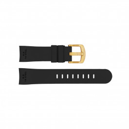 TW Steel klockarmband TWB102 Silikon Svart 24mm