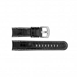 Klockarmband TW Steel TWB112 Läder Svart 24mm