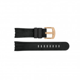 Klockarmband TW Steel TWB121 / TW87 Silikon Svart 24mm