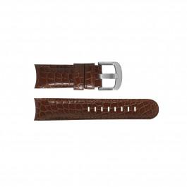 TW Steel klockarmband TWB126 Läder Brun 22mm + sömmar brun