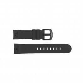 Klockarmband TW Steel TWB137 Silikon Svart 24mm