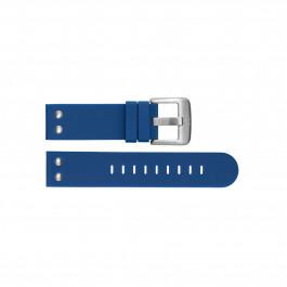 Klockarmband TW Steel TWB500 Silikon Blå 22mm