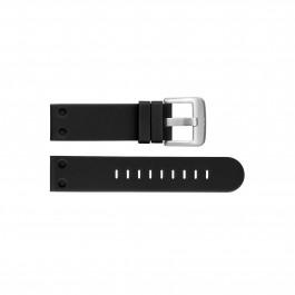 TW Steel klockarmband TWB581 Silikon Svart 24mm