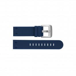 TW Steel klockarmband TWB585 Silikon Blå 22mm