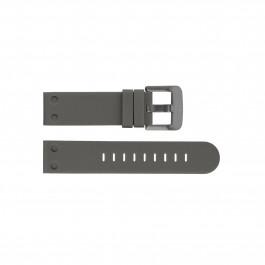 TW Steel klockarmband TWB590 Silikon Grå 24mm