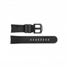 TW Steel klockarmband TWB92 Silikon Svart 22mm