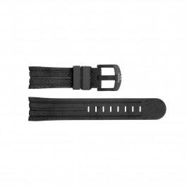Klockarmband TW Steel TWB93 Silikon Svart 24mm