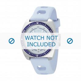 Klockarmband ZO2230 Gummi Ljusblå 20mm