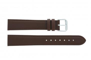 Klockarmband Universell 054.02 Läder Brun 16mm