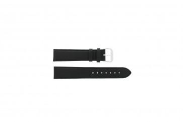 Klockarmband Universell 054.01.18 Läder Svart 18mm