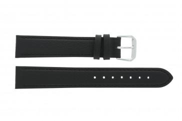 Läderrem i äkta läder svart 10mm 054