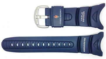 Klockarmband Casio 10158454 Plast Blå 24mm