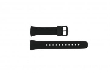 Casio klockarmband 10187727 / VWA-106HE Plast Svart 24mm