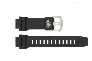 Casio klockarmband 10350859 Pro Trek Plast Svart 18mm