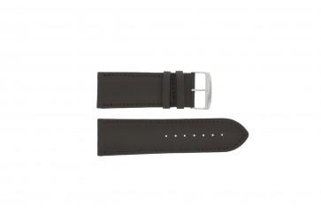 Klockarmband 306.02 Läder Brun 24mm + default sömmar